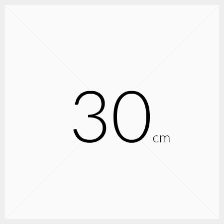 Løse hyller 30cm dybde