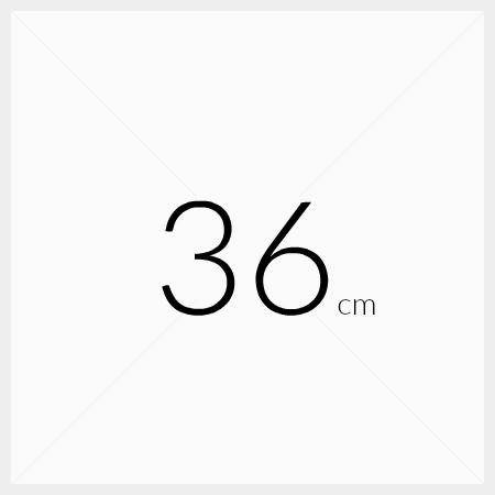 Løse hyller 36cm dybde