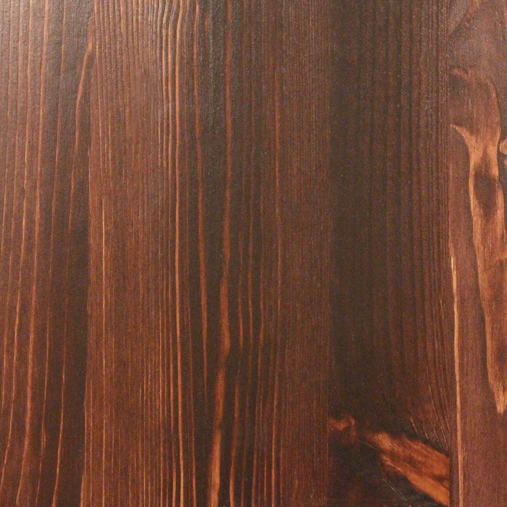Bilde furutre i mahogni utformning foto