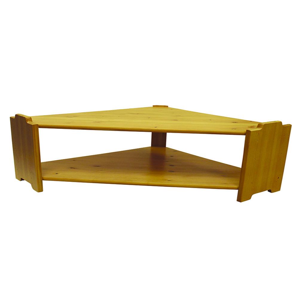 Hjørnereol 1  D: 20cm H: 40cm (SHR1)