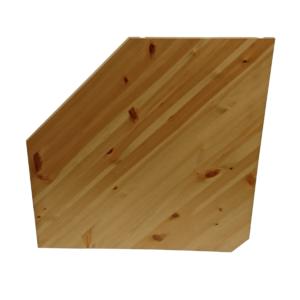 Hjørnehylle 36 - Furu, Hvitlasert